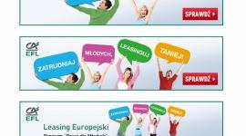 EFL promuje Leasing Europejski - Pracę dla młodych BIZNES, Media i PR - W kwietniu rozpoczęła się pierwsza odsłona wiosennej, sprzedażowej kampanii EFL. Prowadzona komunikacja podkreśla ofertę tańszego Leasingu Europejskiego skierowaną do firm, które zdecydują się udzielić wsparcia młodym osobom, wchodzącym na rynek pracy.