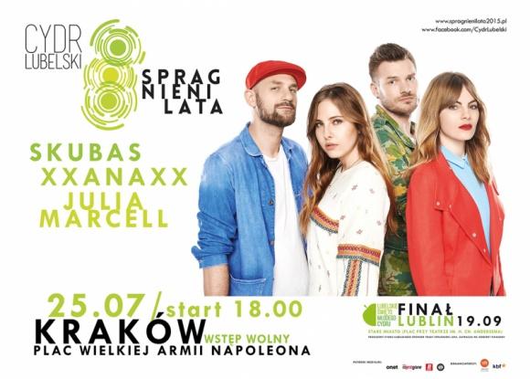 """Trzecia edycja trasy koncertowej """"Spragnieni Lata"""" BIZNES, Media i PR - """"Spragnieni Lata"""" muzycy wyruszyli w najbardziej orzeźwiającą trasę koncertową w Polsce."""