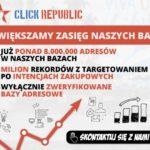 Click Republic już z 8 milionami adresów