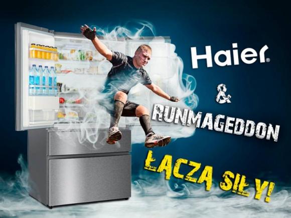 Haier Poland dołącza do ekipy Runmageddonu BIZNES, Media i PR - Haier Poland znany jest z niekonwencjonalnego podejścia do marketingu. Firma wiele razy udowadniała, że nie boi się odważnych kampanii i niestandardowych działań