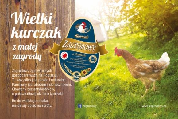 """Kolejna odsłona kampanii marki Zagrodowy BIZNES, Media i PR - Wystartowała kolejna odsłona kampanii marki Zagrodowy pod hasłem """"Wielki kurczak z małej zagrody""""."""