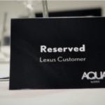 AQUA by Lexus - zapraszamy do stołu