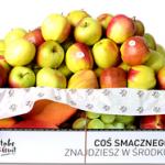 Pudełka owoców – polskie gruszki i jabłka
