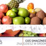 Owoce w pracy – pudełka z egzotycznymi owocami