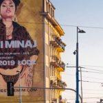 Street artowy mural z Nicki Minaj w kolejnej realizacji Synergic