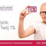 Moje życie, Twój 1%. Kampania Fundacji Na Ratunek Dzieciom z Chorobą Nowotworową
