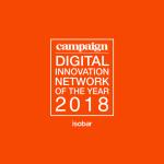 "Isobar z tytułem ""EMEA Digital Innovation Network of the year 2018"" Campaign"