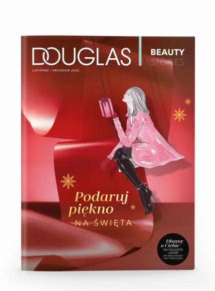 """NOWY MAGAZYN DOUGLAS """"Beauty Stories"""" WYDANIE ŚWIĄTECZNE BIZNES, Media i PR - W świątecznej edycji """"Beauty Stories"""", której mottem przewodnim jest """"Podaruj piękno na święta"""", podpowiadamy, jakie prezenty sprawią radość naszym bliskim."""